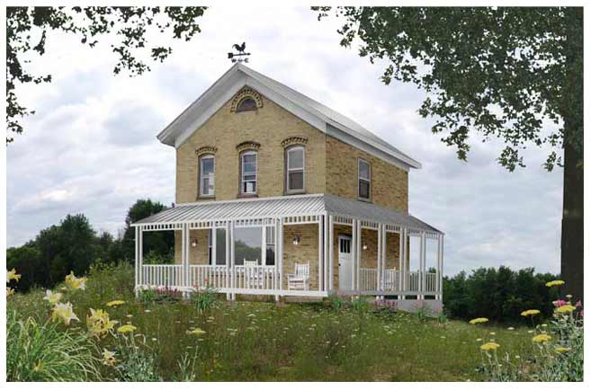 Farm House Salvage And Remodel In Northern Wisconsin